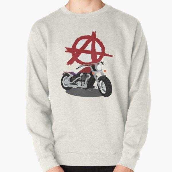 Bike of Anarchy Pullover Sweatshirt