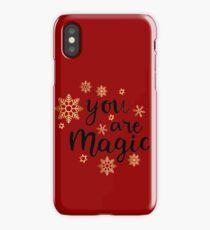 YOU ARE MAGIC iPhone Case/Skin