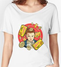Stranger Things Eleven / Waffles Women's Relaxed Fit T-Shirt
