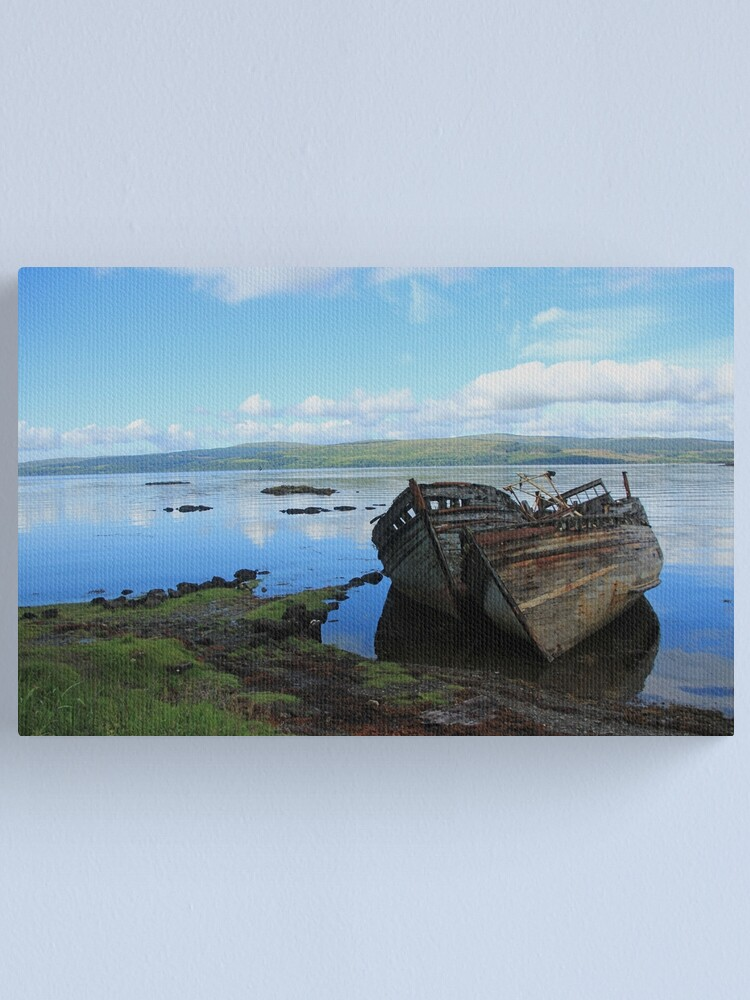 Alternate view of Salen serenity Canvas Print