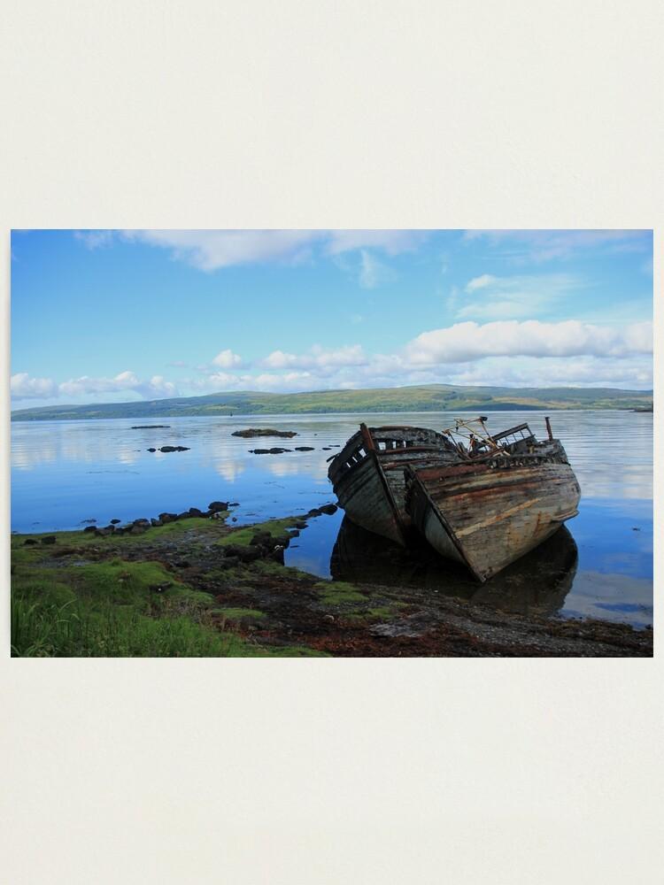 Alternate view of Salen serenity Photographic Print