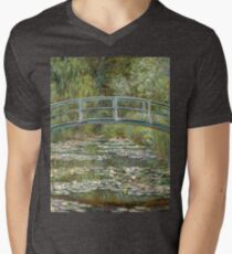 Bridge over a Pond of Water Lilies by Claude Monet T-Shirt