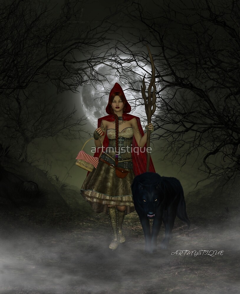Meet me in the woods tonight by artmystique