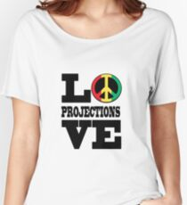 LOVE PROJECTIONS Women's Relaxed Fit T-Shirt