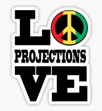 LOVE PROJECTIONS Sticker