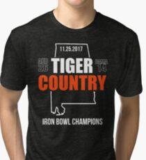 2017 IRON BOWL CHAMPIONS SHIRT Tri-blend T-Shirt