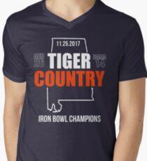 2017 IRON BOWL CHAMPIONS SHIRT Men's V-Neck T-Shirt