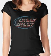 Dilly Dilly  Women's Fitted Scoop T-Shirt