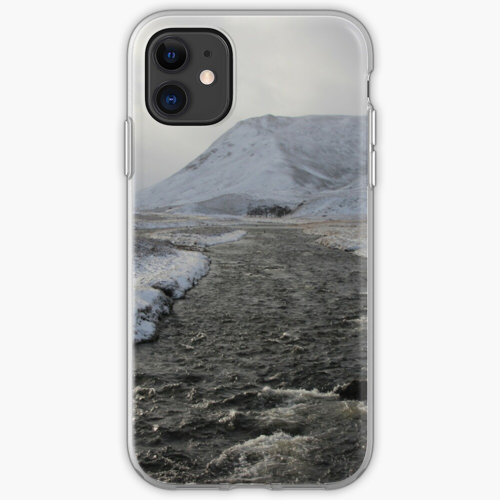 Winter river iPhone Case & Cover
