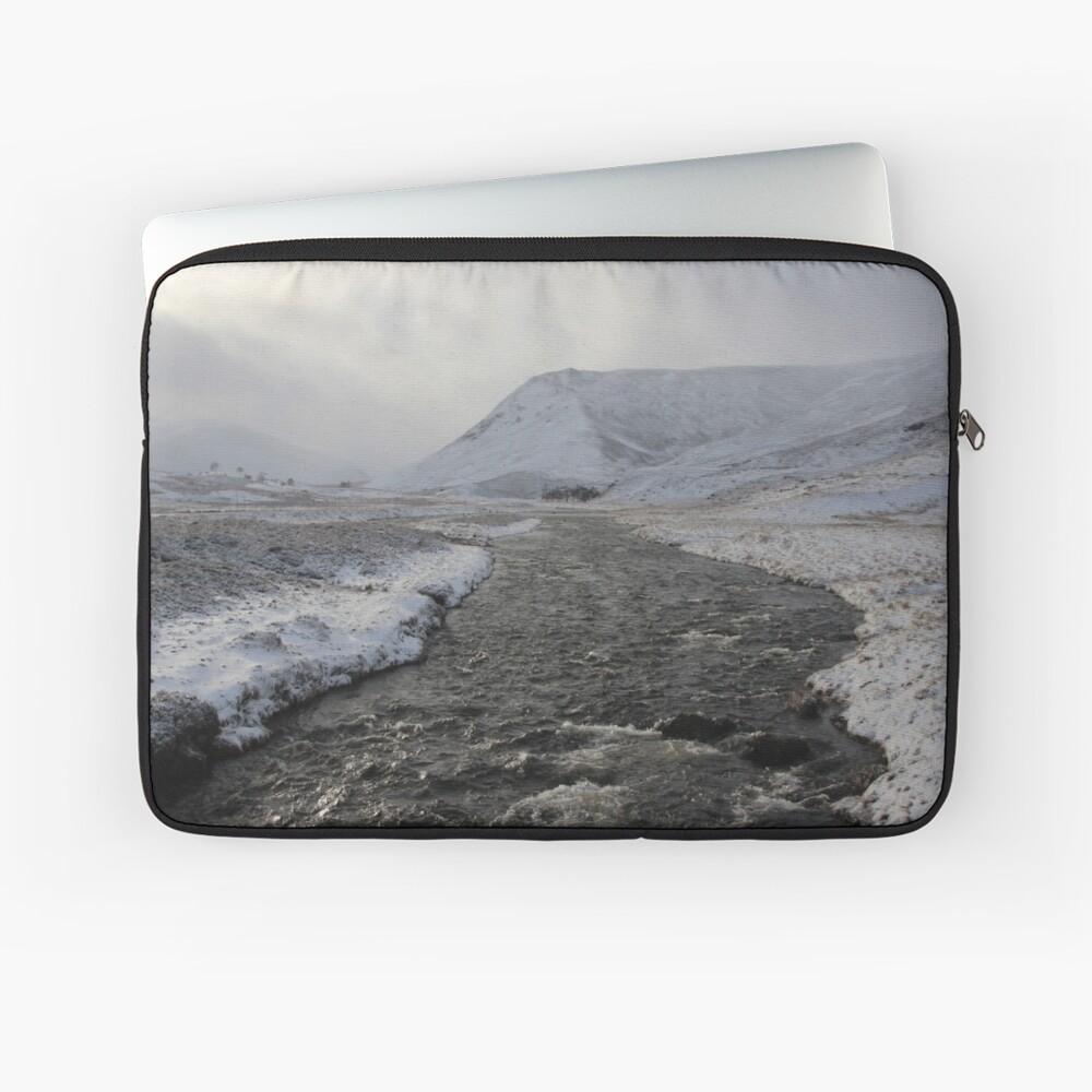 Winter river Laptop Sleeve