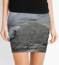 Winter river Mini Skirt
