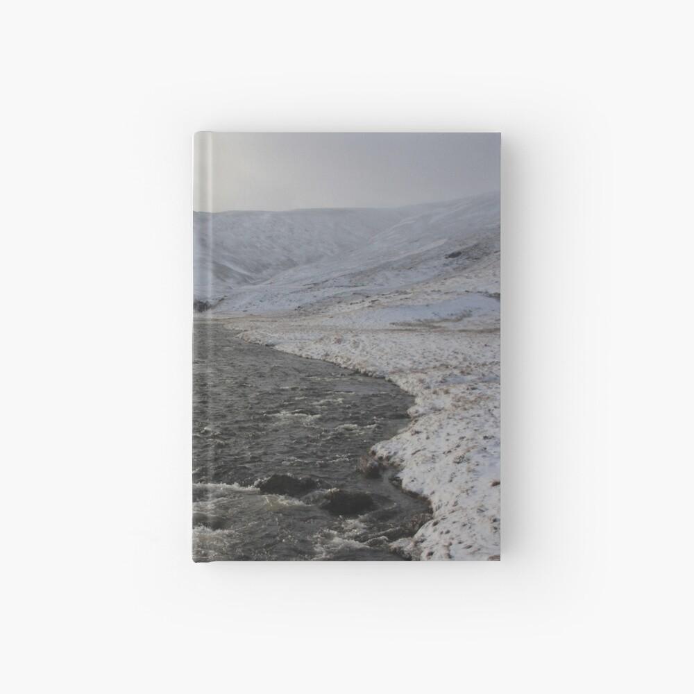 Winter river Hardcover Journal