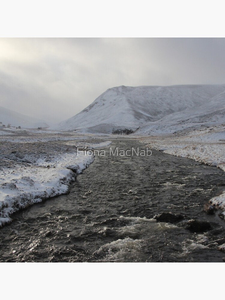 Winter river by orcadia