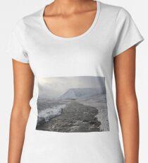 Winter river Women's Premium T-Shirt