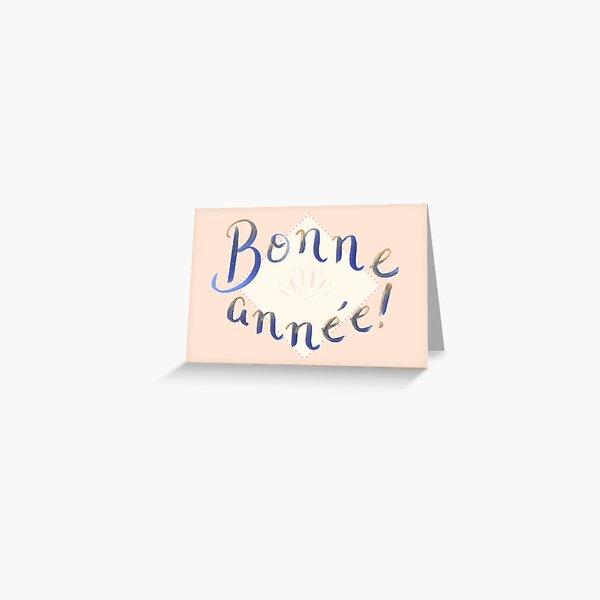 Bonne année! (FR) Greeting Card