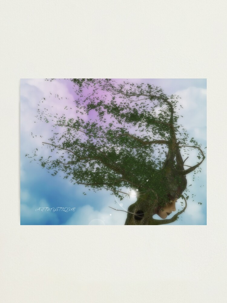 Alternate view of Tree Deity Photographic Print