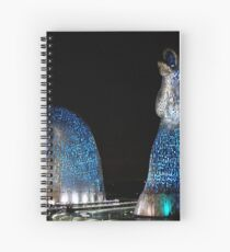 The Kelpies Spiral Notebook