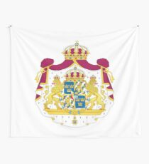 Sweden Coa Wall Tapestry