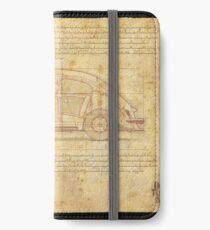 Das Auto der Leute iPhone Flip-Case/Hülle/Skin