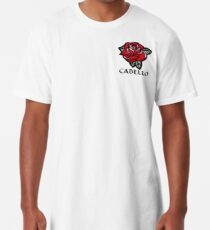 Camiseta larga Cabello Rose