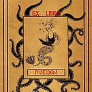 Ex Libris: Poseidon by Caviglia
