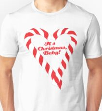 Candy Cane - It's Christmas, Baby! #xmas #christmas #minimal #love #design T-Shirt