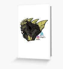 Eliaus Greeting Card
