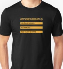 First World Problems Unisex T-Shirt