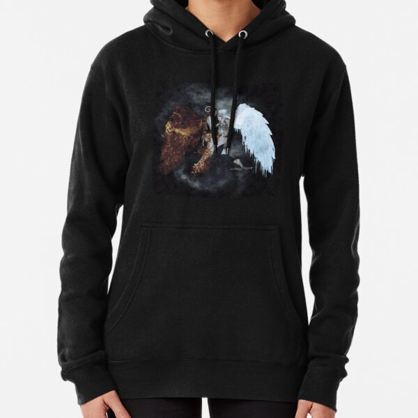 Fire and Ice Pullover Hoodie