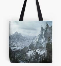 Skyrim winter Tote Bag