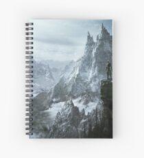 Skyrim winter Spiral Notebook