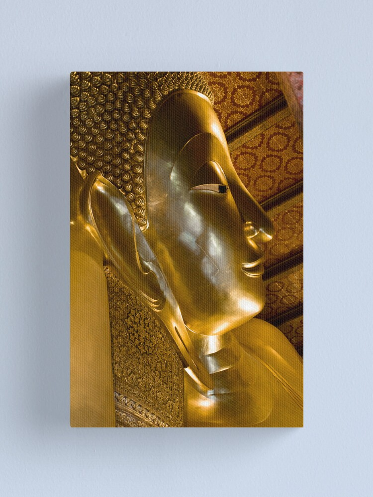 Alternate view of A glimpse of buddhism Canvas Print