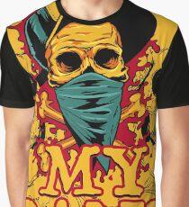 skull band Graphic T-Shirt