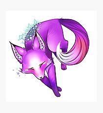 Foxom -- Mushroom Fox Photographic Print