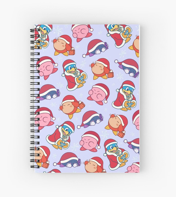 Christmas Kirby characters\