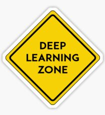 deep learning zone Sticker
