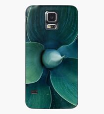 Floral green pattern Case/Skin for Samsung Galaxy