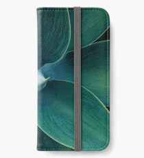 Floral green pattern iPhone Wallet/Case/Skin