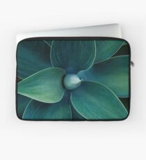 Floral green pattern Laptop Sleeve