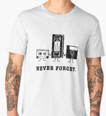 Ne Jamais Oublier Cassette Disquette Usb Men's Premium T-Shirt