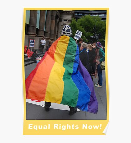 Equal Rights Now Poster