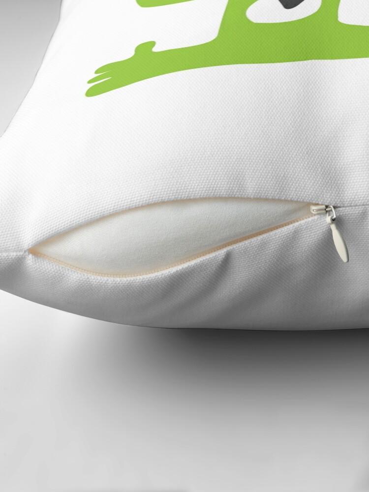 Alternate view of Green Monster Floor Pillow