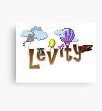 Levity - Special-Tee Canvas Print