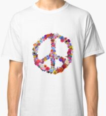 Peace Lover Photo Version Classic T-Shirt
