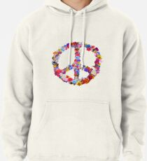 Peace Lover Photo Version Pullover Hoodie
