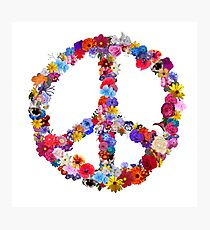 Peace Lover Photo Version Photographic Print