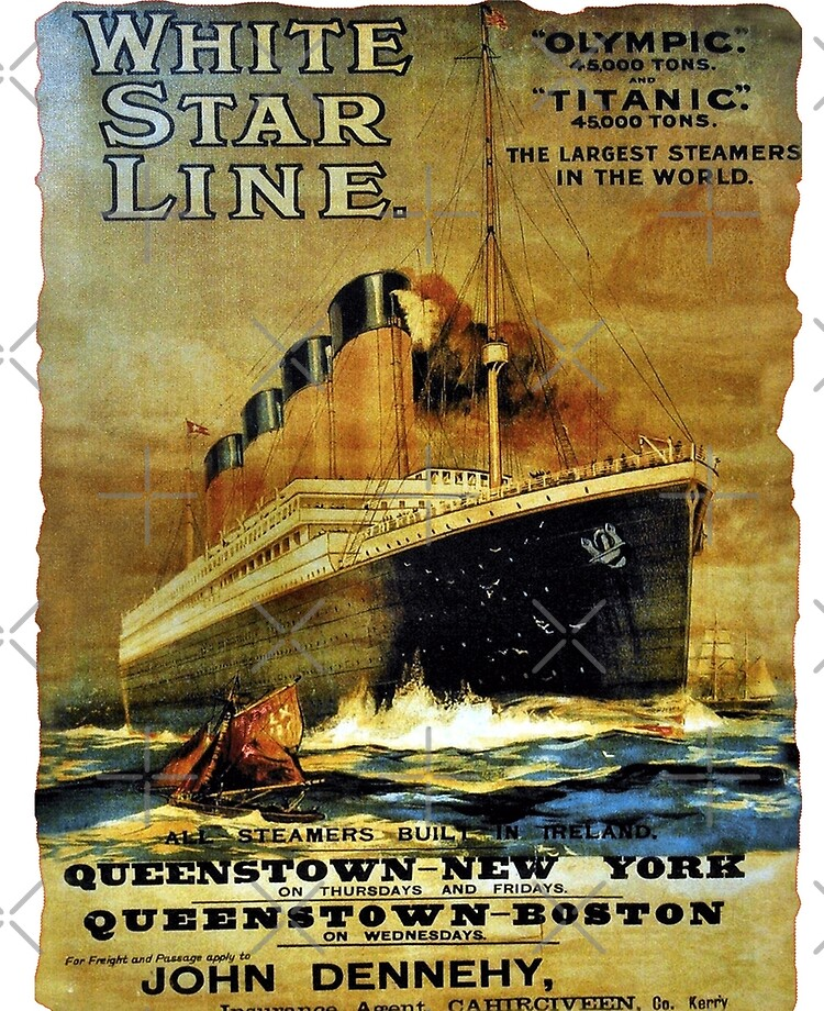 The Titanic Sailing New POSTER