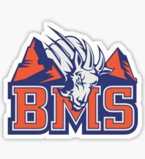 Blue Mountain State Logo Sticker Sticker