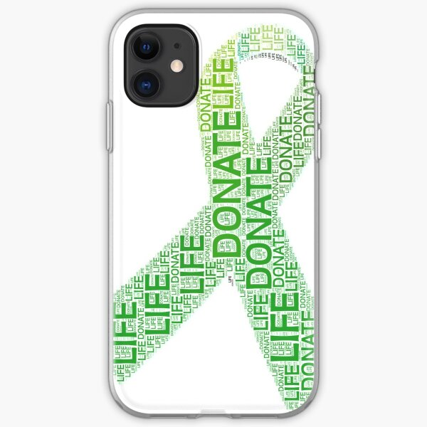 Donate Life Organ Donor Advocate Gift T-Shirt Organ Donation iPhone Soft Case