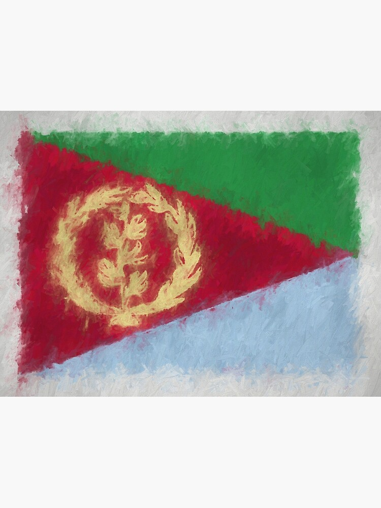 Eritrea Flag Reworked No. 66, Series 4 by 8th-and-f